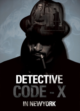 Détective Code-X in New York